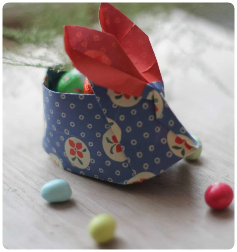 Easter Bunny origami