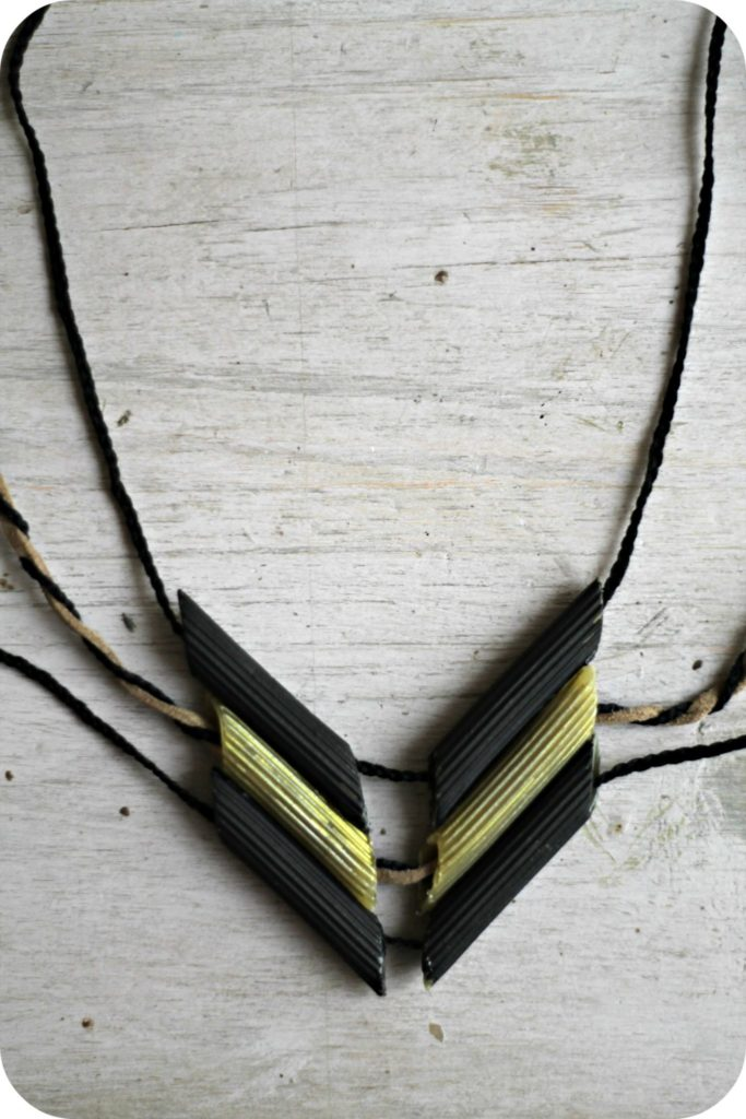 diy collier de pates