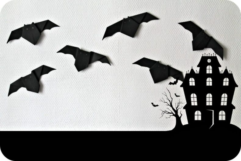 DIY chauves-souris origami - the funky fresh project