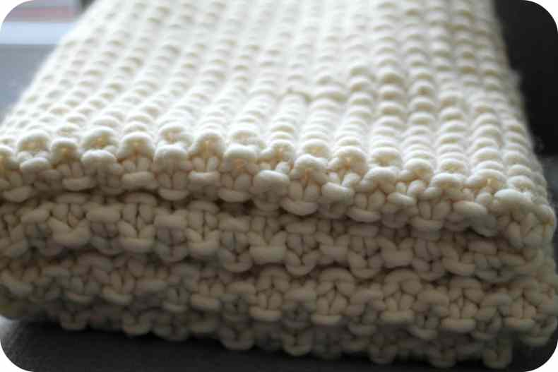 Udon Blanket We Are Knitters The Funky Fresh Project