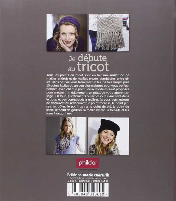 JE DEBUTE AU TRICOT - The Funky Fresh Project