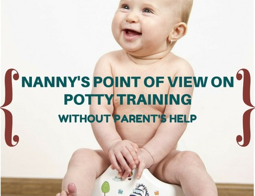 baby on a potty