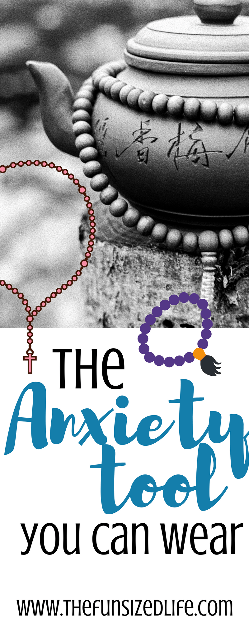 Get help with anxiety, learn to meditate and practice prayer with these very stylish beads. #malabeads #meditation #prayer #anxiety #anxietyrelief #meditationforbeginners