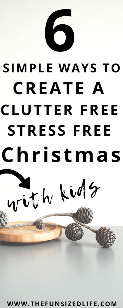 Having a minimalist Christmas is the only way to go. Create a clutter free, less stress Christmas this year and really enjoy the whole holiday season.