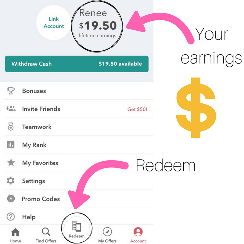 make money, target, ibotta, rebate app,