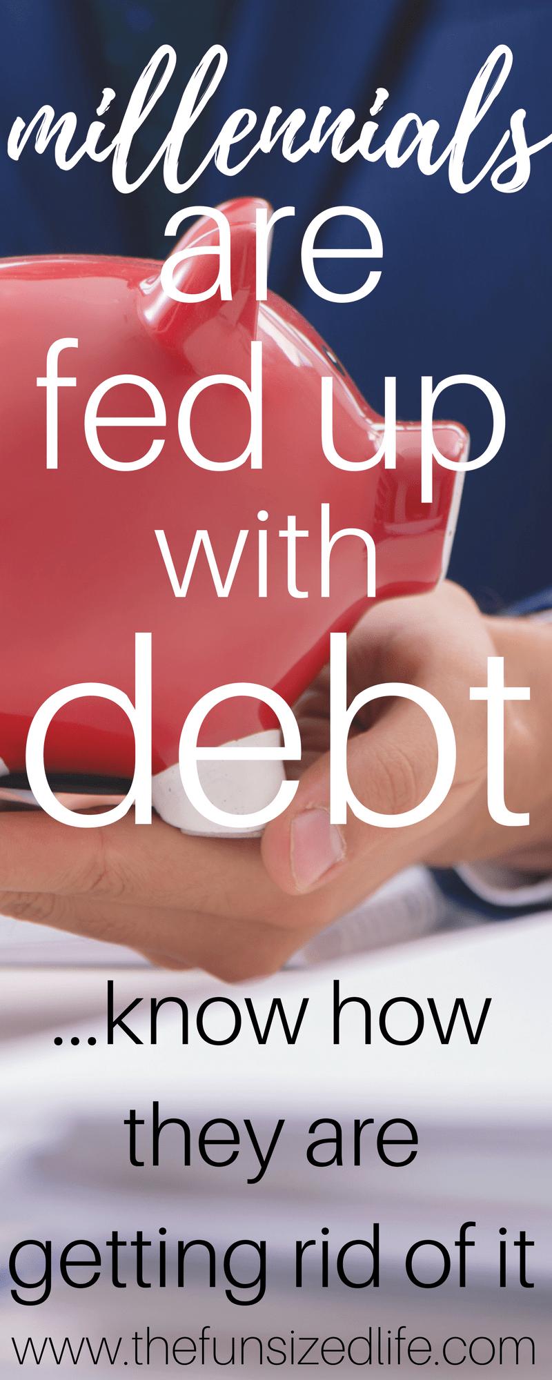 millennial debt, debt payoff, how to start paying off debt, millennials and debt, debt fighters,