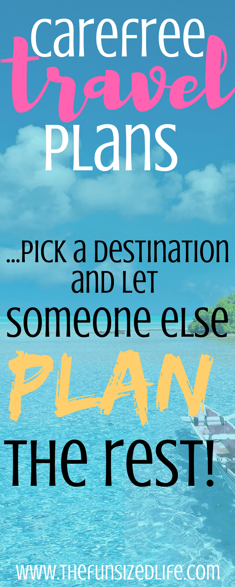 Letting someone else plan my vacation and still save money was the best decision ever! #cheaptravel #saveontravel