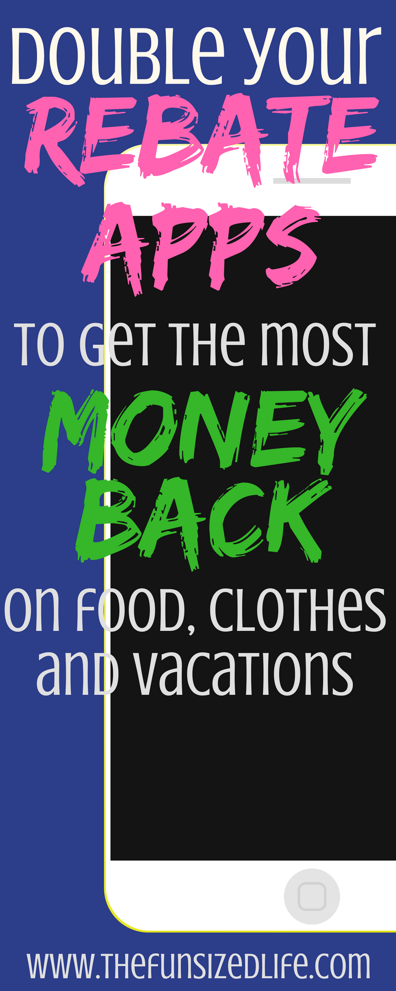 You can save SO much by doubling these apps it's crazy! #rebateapps #vacation #discounts #savings
