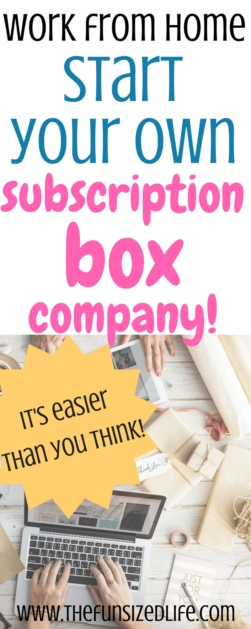 You can start your own subscription box and make serious money! #subscriptionbox #entrepreneur