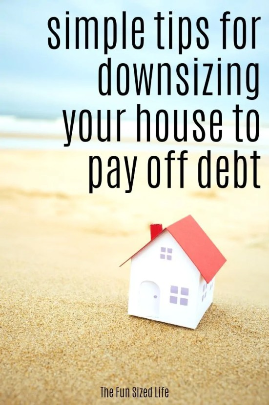 Debt freedom is a trend that is on the rise and many people are taking to moving into a smaller house to save money and pay off debt. Here's how to do it.