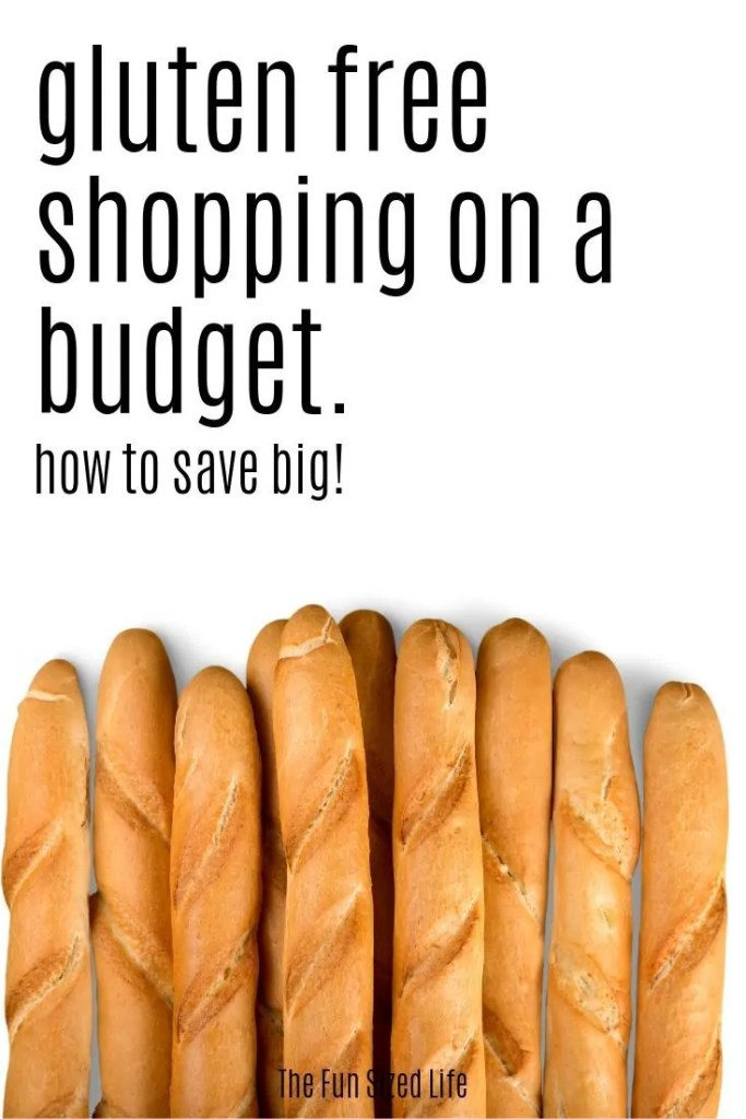 Get this total gluten-free shopping guide for the best tips on how to shop gluten-free on a budget. PLUS, still eat healthy!
