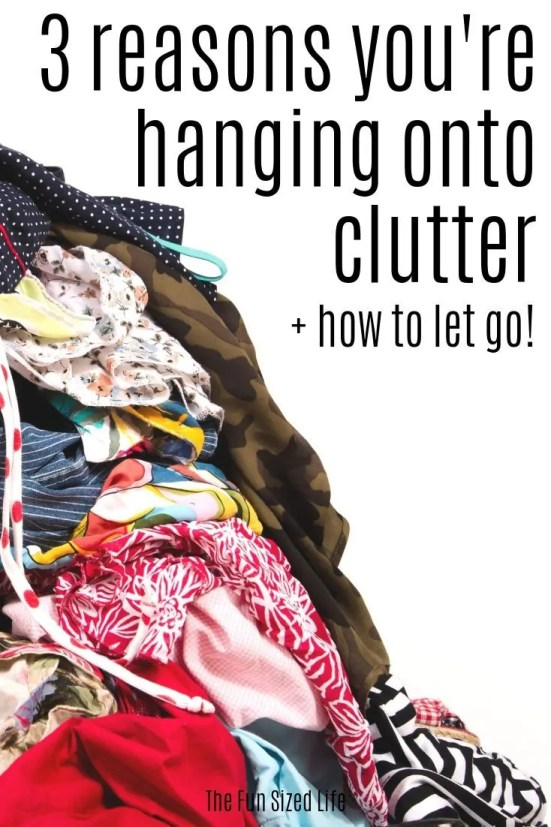 If you fed up with clutter but just feel like you can't let go of stuff in your house, this guide will walk you through 3 of the biggest clutter struggles.