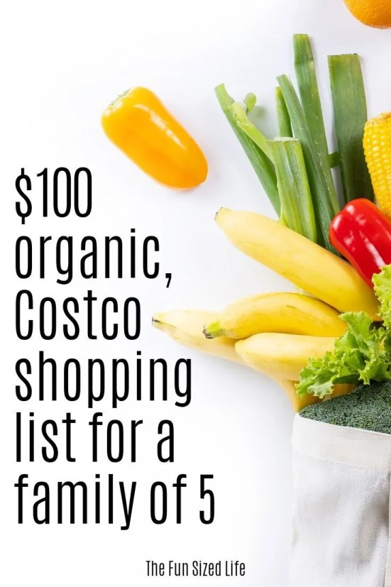 Budgeting while eating healthy can be so easy at Costco. Here you can see my Costco shopping list and how I get all my health foods for only $100.