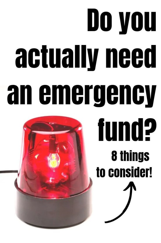 Do I need an emergency fund? Can I stick with credit cards? There are 8 major reasons people overlook their emergency fund for way too long!