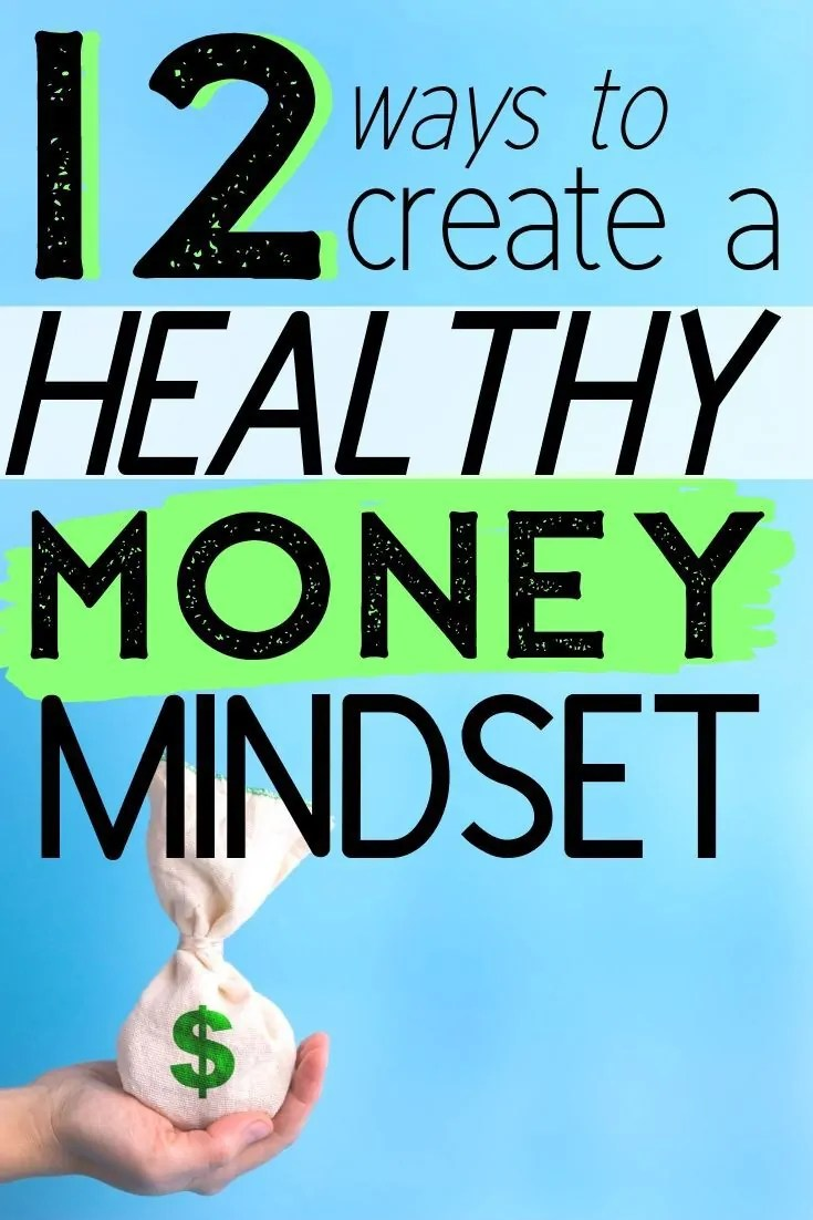 Get out of credit card debt and build a savings with these healthy money mindset ideas. Time to start saving money and living better.