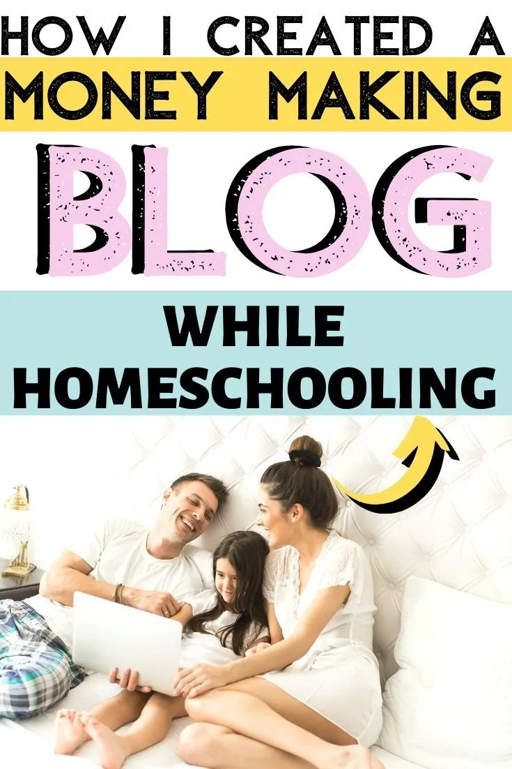 Yes mamas! It's possible to make money with a blog while homeschooling! Here is the play by play of how I make money blogging and stick to a homeschool plan