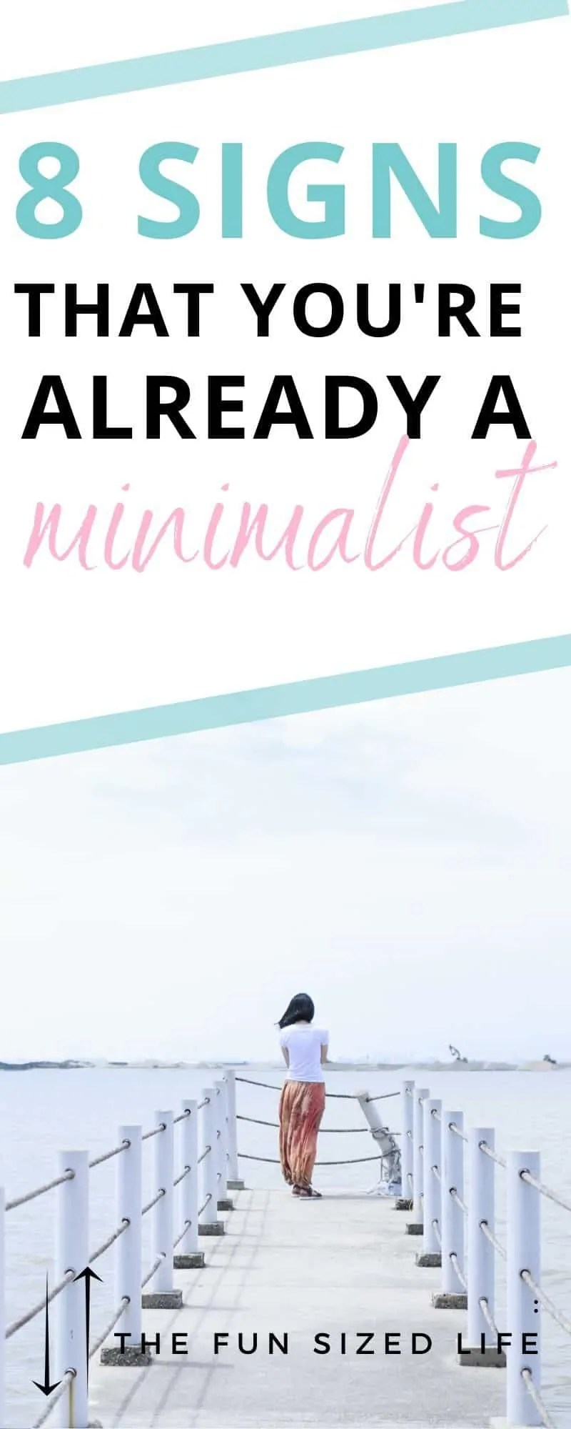 There are some serious signs that you might already be a minimalst. This list of 7 red flags can help you decide if minimalism is right for you.