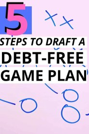 Ever wondered the best way to get out of debt? You're gonna love this financial game plan created for you to make debt payoff simple and effective!