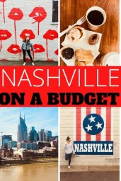 Want to explore Nashville on a budget? Here are some practical budgeting tips travel and lodging that can help you cut your expenses in half!