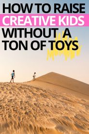 How to Create More Creativity with Less Toys in a Minimalist Home