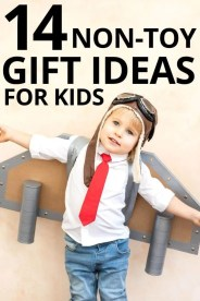 14 Non Toy Gift Ideas for Kids