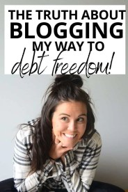 How I Paid Off Debt by Blogging About Paying Off Debt