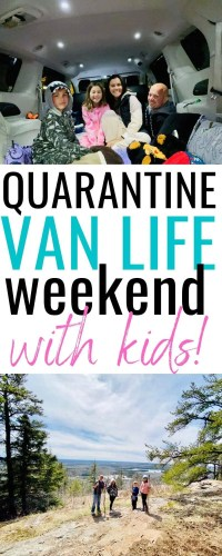 Trying Van Life with Kids for a Weekend