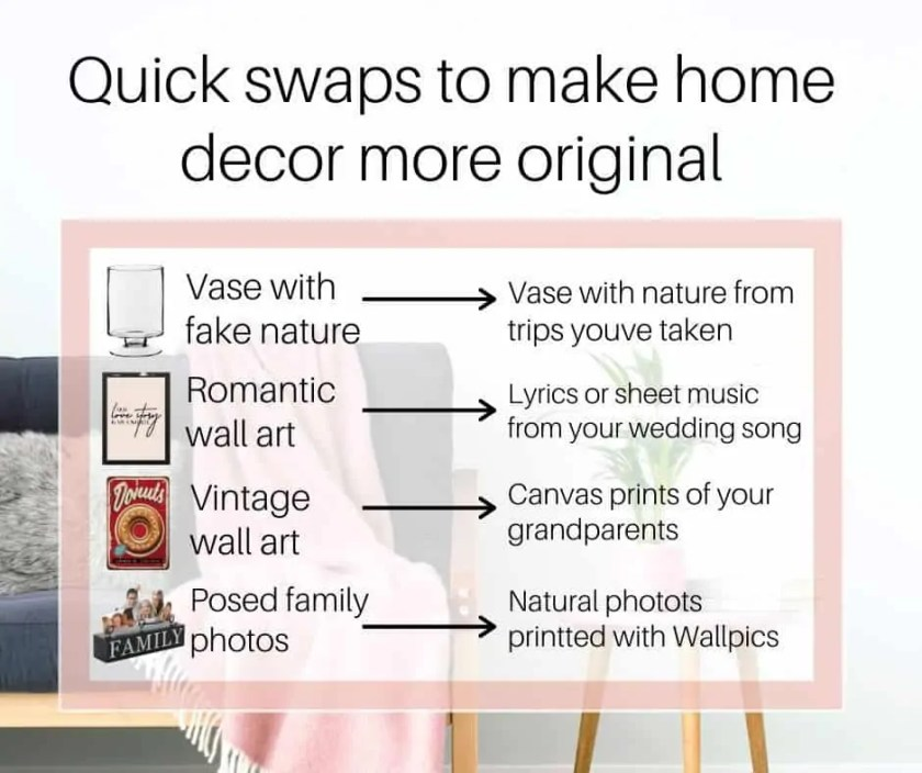 When it comes to decorating your house, it should definitely feel like a home. And home should be unique to you and your taste! - 10 ways to make it happen!