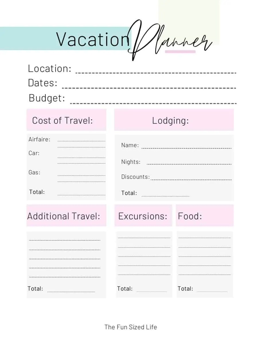 Our family of 5 has been able to afford 2 week vacation every year since doing these 10 things! Here's how you can better budget your family vacation!