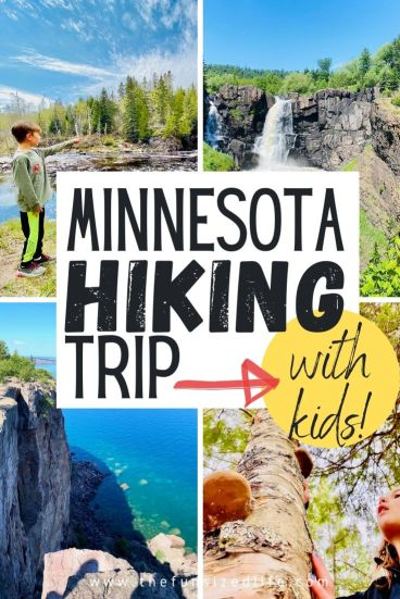 Chasing Waterfalls with Kids Along Minnesota's North Shore