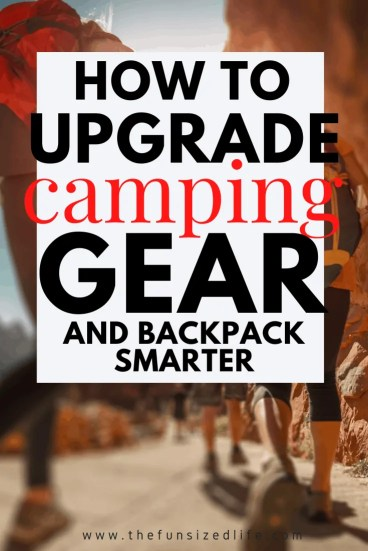 There is a whole new way to backpack that allows you to bring some tech along with you! Here's a peak as some of the best new camping gear!