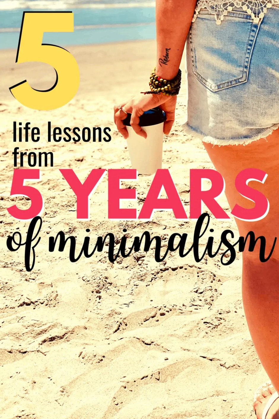 Our family downsized our house and started living a minimalist lifestyle 5 years ago! Here are 5 major lessons we want to share with you!