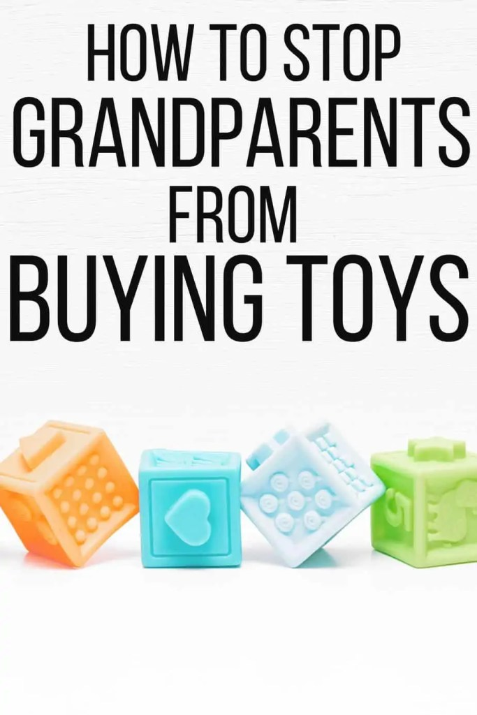 Wondering how to stop grandparents from buying so many toys and spoiling? Here some new strategies to reduce toy clutter and keep the peace.
