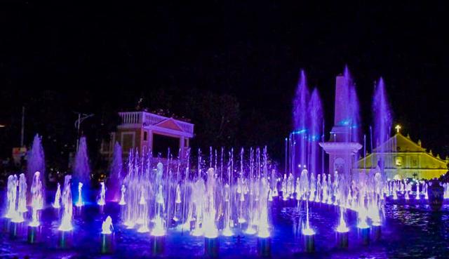 Dancing Fountain in Vigan