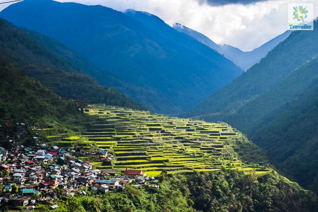 Bay-yo rice terraces of Bontoc