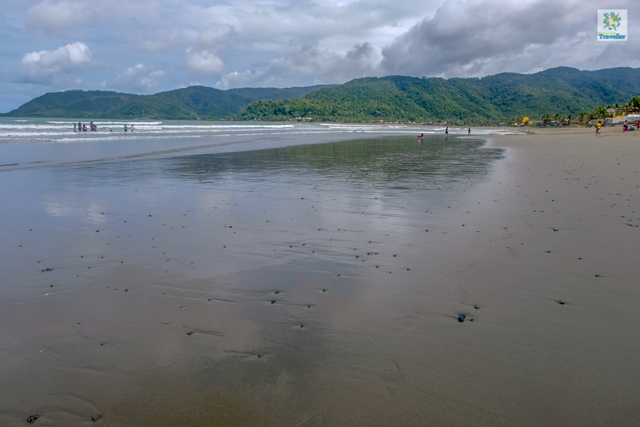 Sabang Beach of Baler