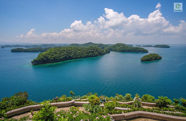 The Hundred Islands.