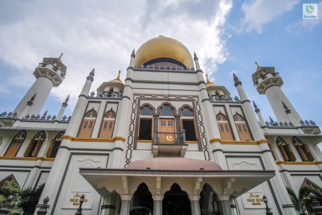 Masjid Sultan Mosque.