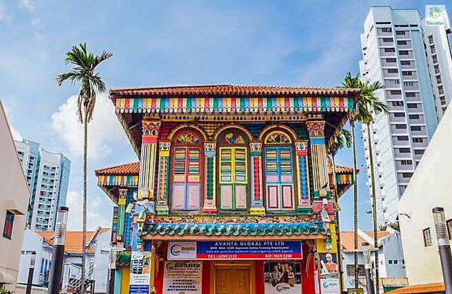 The House of Tan Teng Niah at Little India.