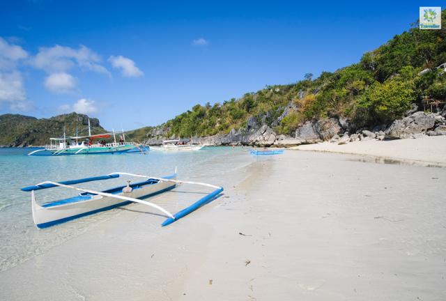 "Tinagong Dagat or ""the little Boracay"" in Antonia Island."