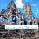 Angkor Travel Itinerary with tips on photography, budget, best way to get around and top temples.