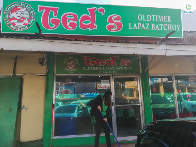 Ted's Oldtimer Lapaz Batchoy located just outside La Paz Public market.