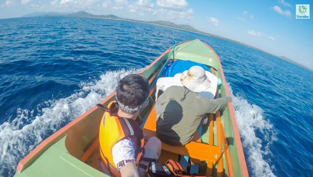 """""""Kiring kiring"""" boat in Balabac"""