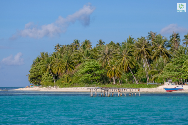 Bancalaan Island serves as one of the two main port in the islands of Balabac, from the mainland Rio Tuba.