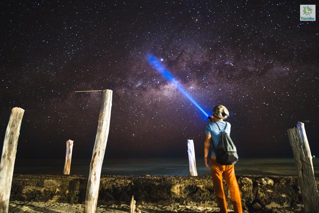 I visited Onuk Island on a new moon during the Milkyway season.