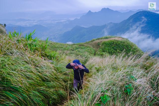 At the highlands of Phu Chi Fa.