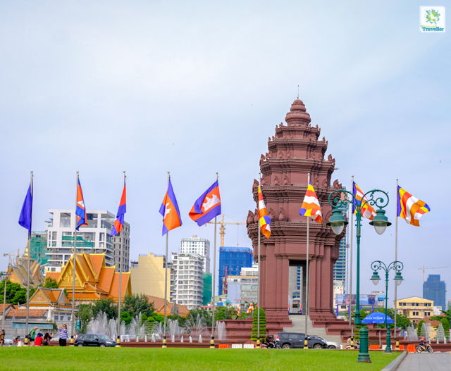 Cambodia Independence Monument