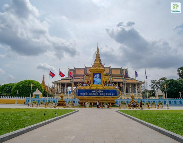 The Royal Palace of Cambodia.