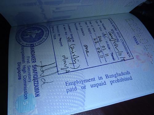 visa Bangladesh