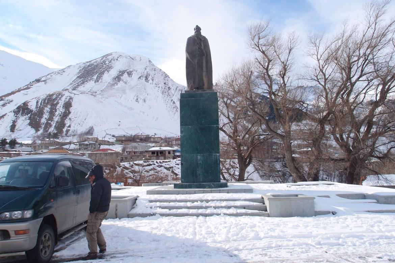 Alexander Kazbegi Statue